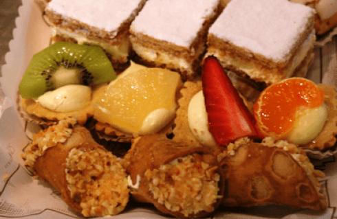 dolci di pasticceria