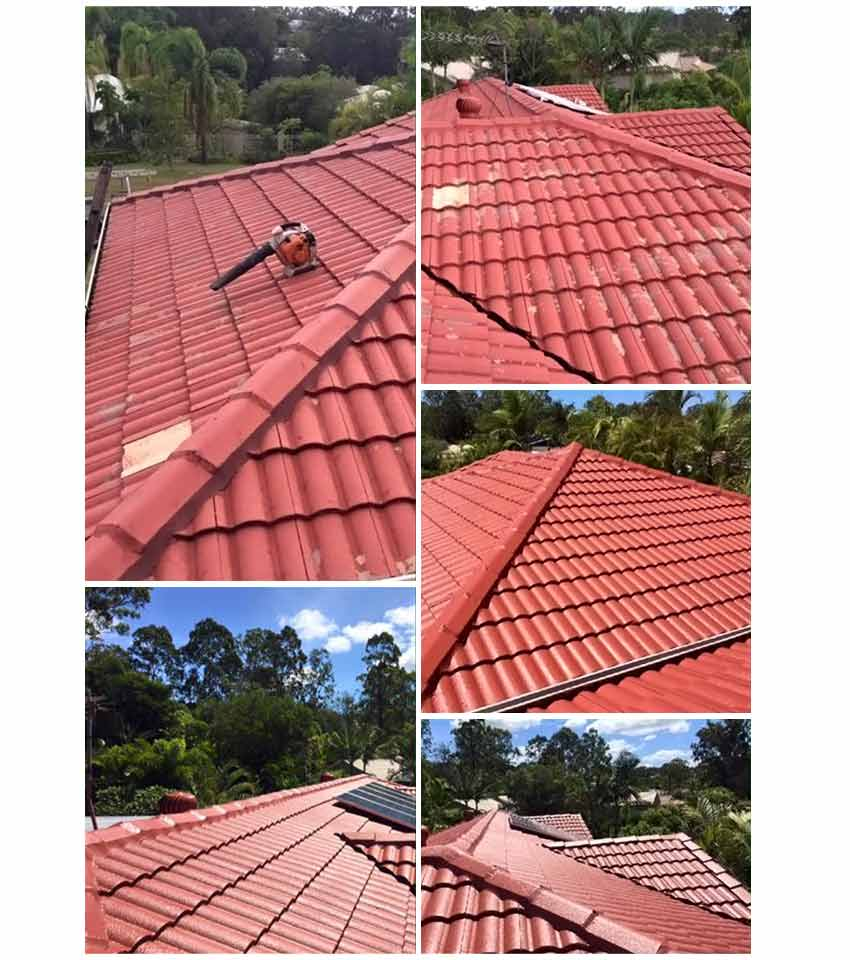 country wide roofing orange tiled roofing