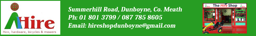 Dunboyne Hire Shop