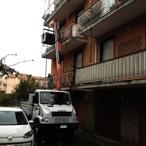 Camion a Cestello