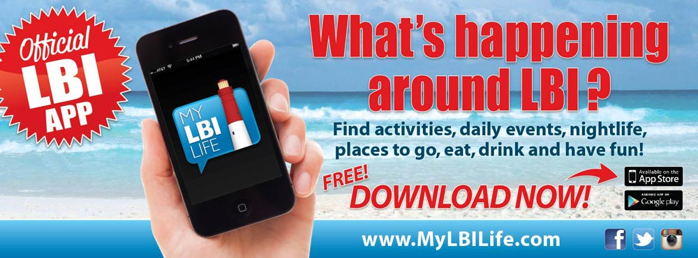 What's Happening around LBI, official site, events, things to do Long Beach Island iPhone App