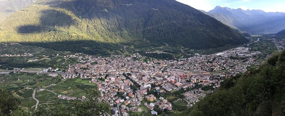 Osteria Roncaiola Tirano panorama