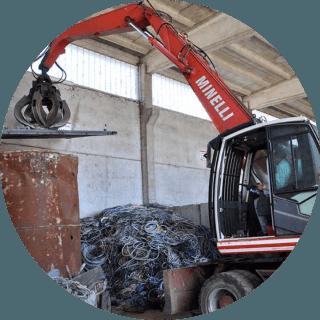 commercio e rottami metallici
