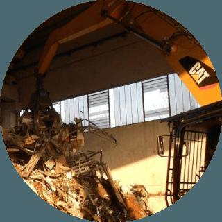 ritiro materiali ferrosi