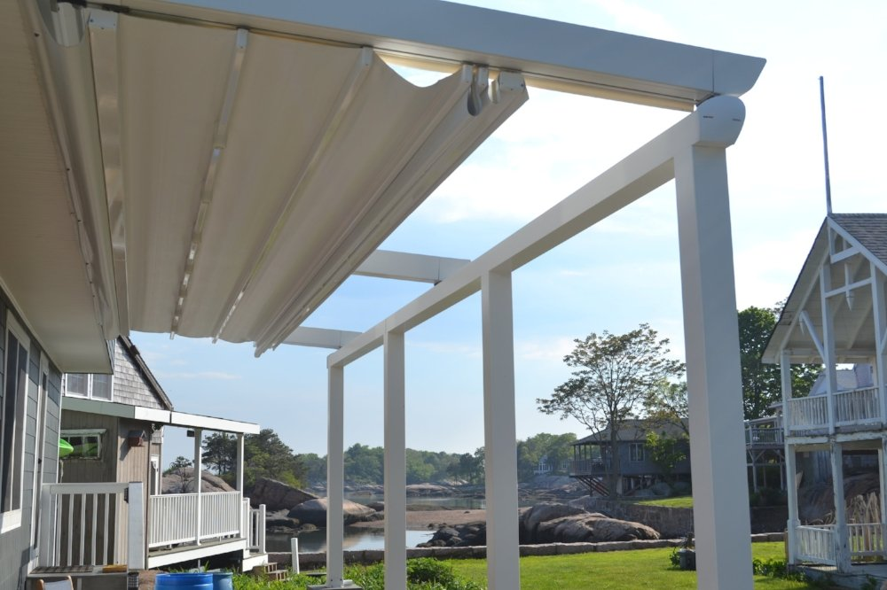 Pergolas Roofs-Patio Rooms-retractable Awning