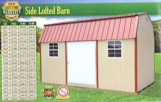 Side Lofted Barn Cabot, AR