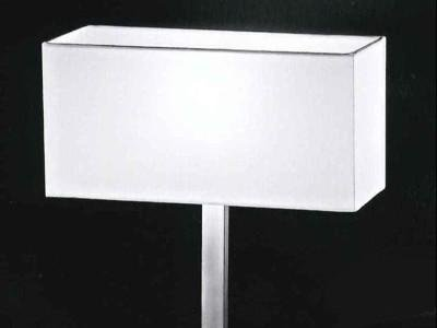 lampada geometrica bianca
