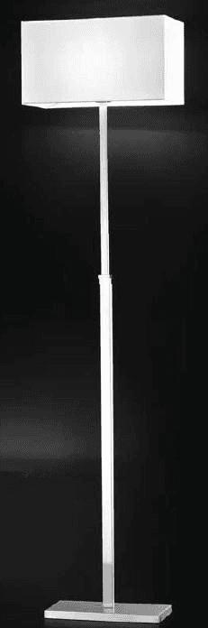 lampada da terra bianca