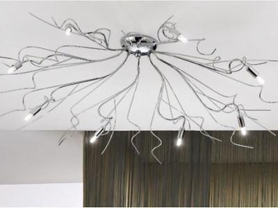 Plafoniere Classiche In Cristallo : Vendita plafoniere genova arte del lampadario