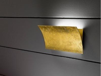 lampada foglio oro