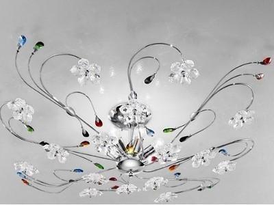 Plafoniere Vetro Trasparente : Vendita plafoniere genova arte del lampadario