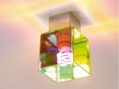lampada colorata