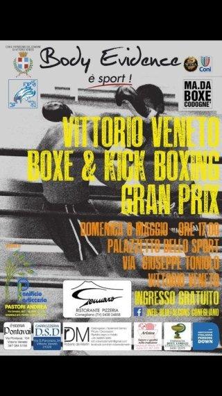 Evento boxe e kick boxing