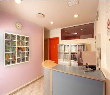 Reception dello studio dentistico