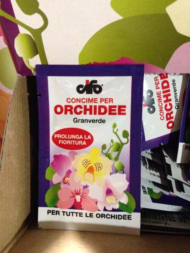 concime orchidee
