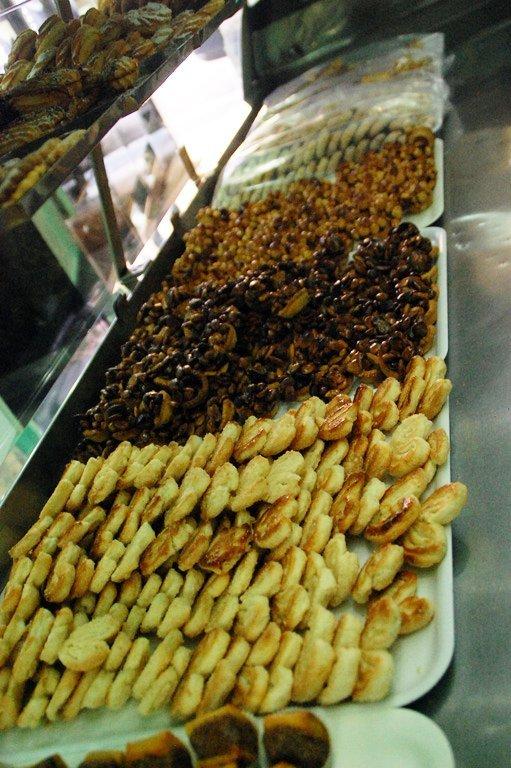 biscotti in esposizione