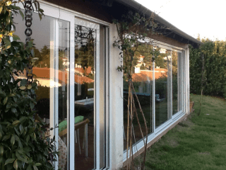 vetrata alluminio