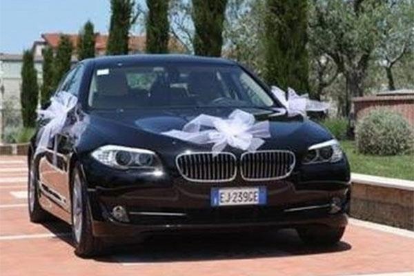Noleggio Auto Matrimonio con conducente