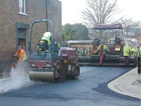 tarmac - Kettering, Northampton, Corby - Claybran Civils - tarmac laying
