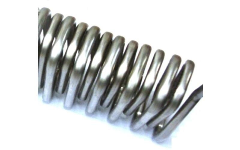 serpentina in acciaio