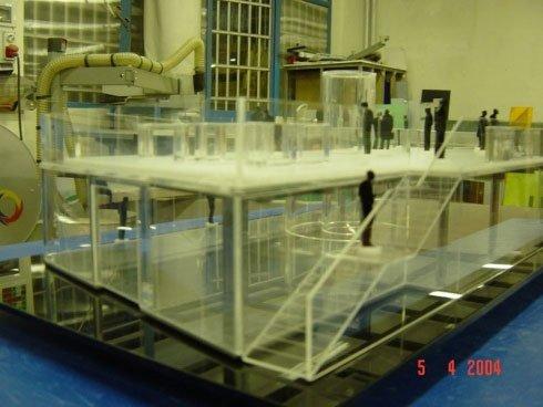 plastico in plexiglass