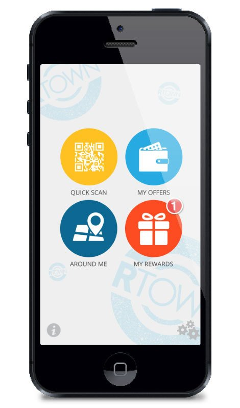 Geo located offers loyalty app