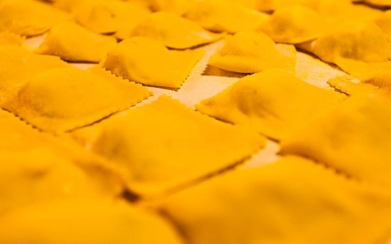 tortelli di patate e pasta fresca del mugello fatta in casa