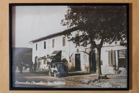 foto storica bottega del cornocchio a barberino di mugello