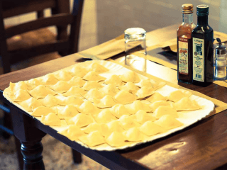 preparazione tortelli patate