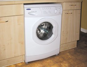Washing machines - Dumfries, Scotland -  Plumbing & Heating Services - kitchen washing machine