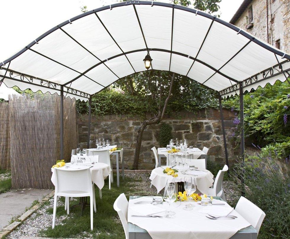 ristorante con terrazza Tavarnelle Val Di Pesa