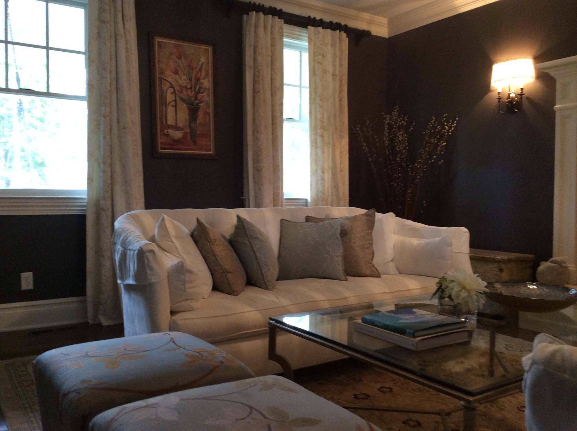 Design job by our home decorator in Darien