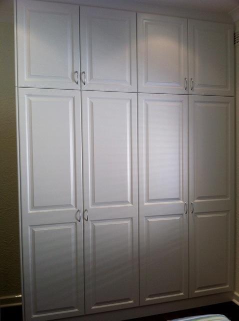 combination four door hinged with vinyl wrap doors