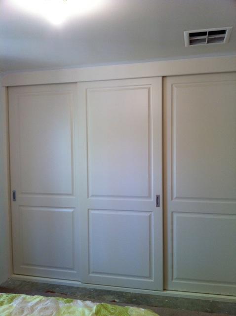 white vinyl wrap doors