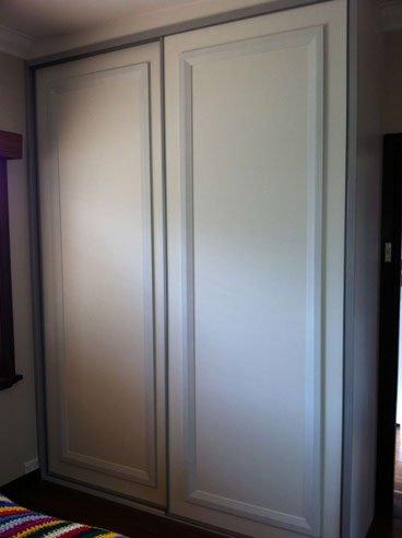ready to paint sliding wardrobe doors