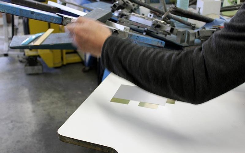 La nostra attrezzatura per la serigrafia