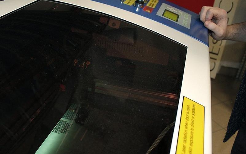 Stampa laser su prodotti