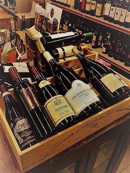 set di vini rossi