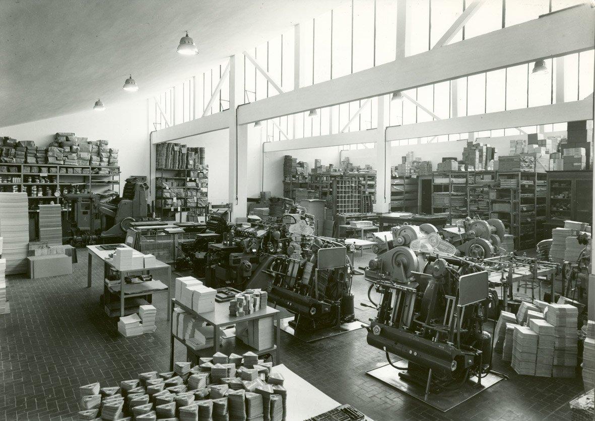 foto storica della ARTE GRAFICA VALSECCHI Malgrate