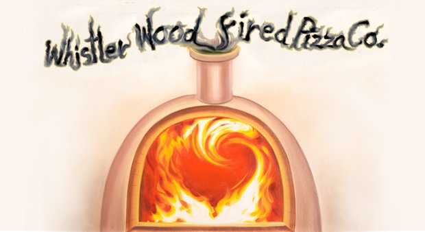 Whistler Wood Fire Pizza Co. logo
