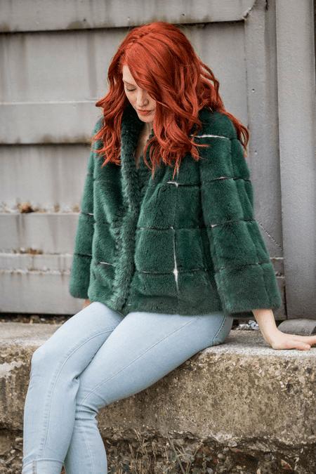 pelliccia_verde