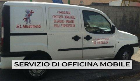 officina mobile per veicoli commerciali
