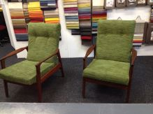 green color upholstery for living room chair
