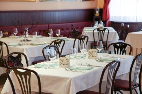 Tavoli del ristorante