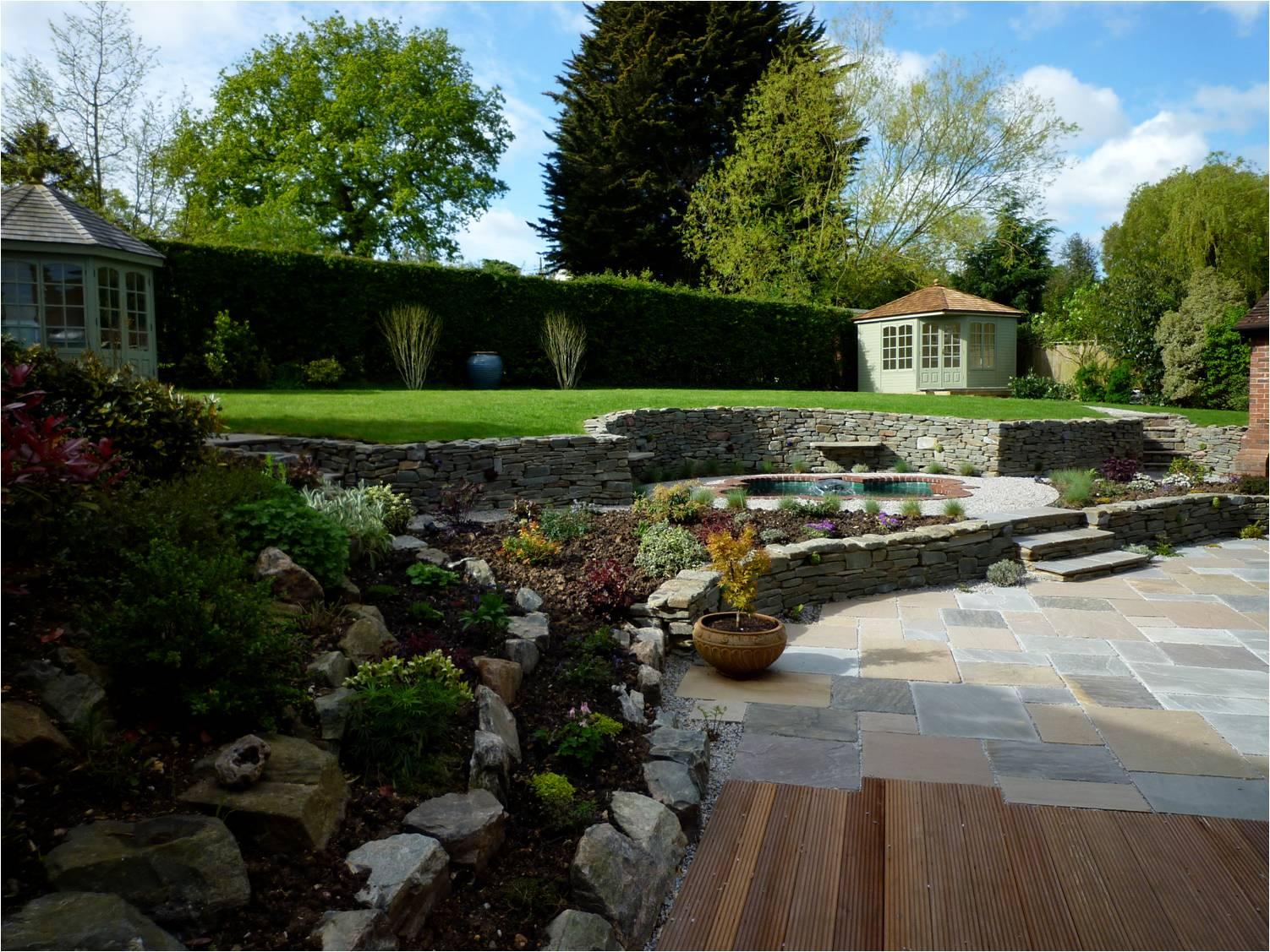 after garden design