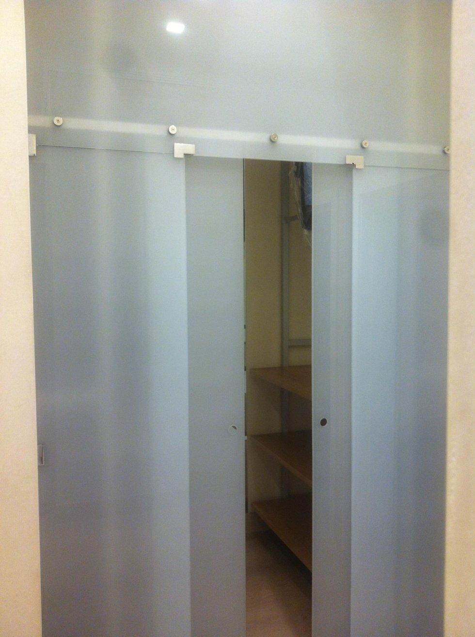 Box doccia vetro genova industria specchi e cristalli for Porta aperta