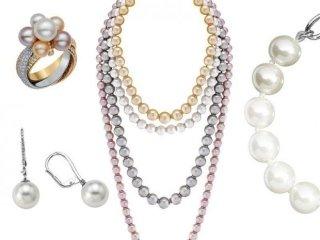collane perle orecchini