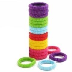 elastici per capelli colorati