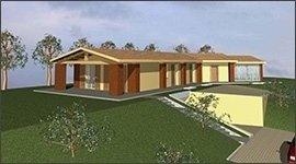 progetto edificio monofamiliare