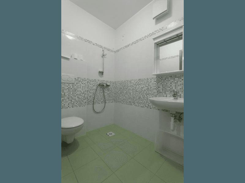 Tutti i bagni sono adatti anche a persone disabili